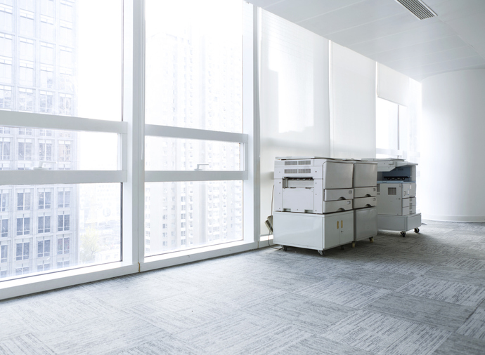 オフィス内のコピー機